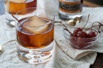 A New Spin on an Old Favorite — The Maple Manhattan at Nick's San Clemente.