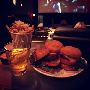 This is how to do movie night right: at Cinepolis in Westlake Village, California.