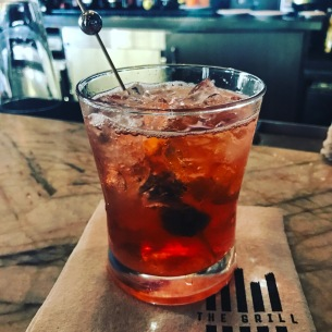 A classic Old Fashioned at The Grill in Westlake Village, California.