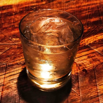 Sometimes you just need to keep it simple and knock back a Jack Daniel's on the rocks.